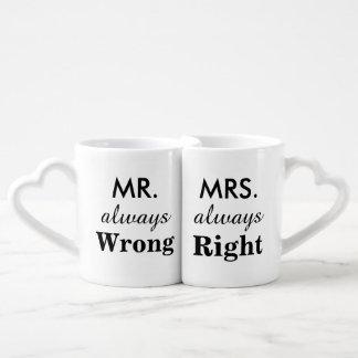 常に氏悪事及び夫人常に右のおもしろいなカップル ペアカップ