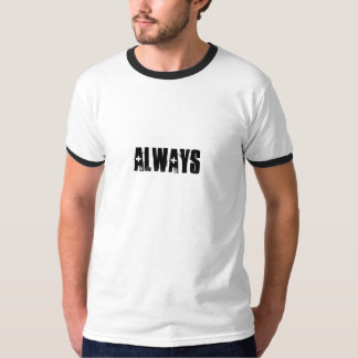 常に Tシャツ