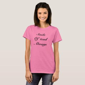 常のスマイル Tシャツ