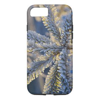 常緑の木のフロスト、ホーマー、アラスカ iPhone 8/7ケース