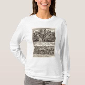 常緑の標準的な農場、res tシャツ