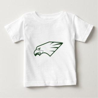 常緑の運動連合の常緑のイーグルス国連 ベビーTシャツ