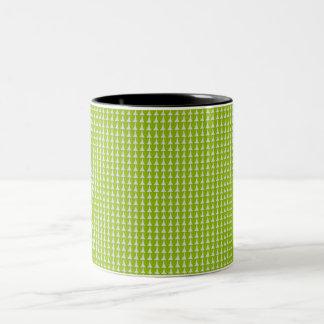 常緑樹緑パターン11 OZ.Mug ツートーンマグカップ