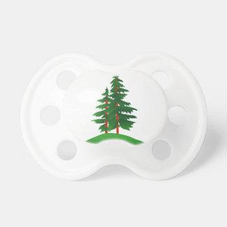 常緑樹 おしゃぶり