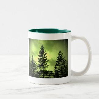 常緑樹 ツートーンマグカップ