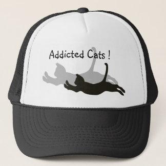常習している猫! キャップ