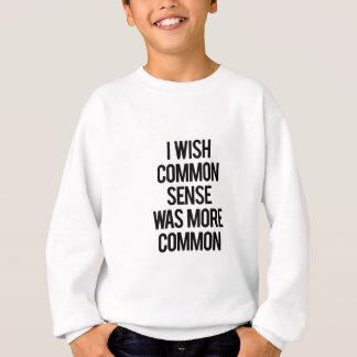 常識 スウェットシャツ