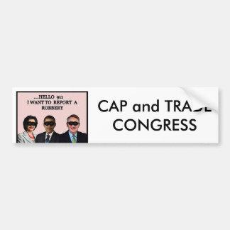 帽子か貿易議会 バンパーステッカー