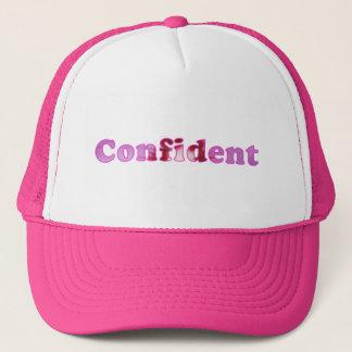 帽子がピンクと綴られる確信したによって開花します キャップ