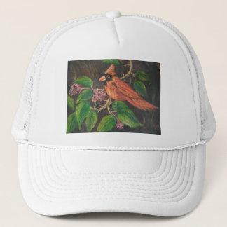 帽子のアンヘイェズの絵画の(鳥)ショウジョウコウカンチョウ キャップ