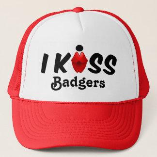 帽子のキス私はアナグマに接吻します キャップ