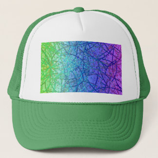 帽子のグランジな芸術の抽象芸術 キャップ