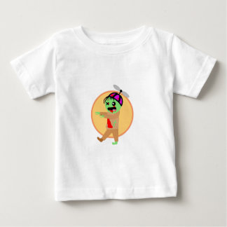 帽子のゾンビ ベビーTシャツ
