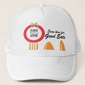 帽子のテンプレートのカジュアルな食事のイタリア語 キャップ