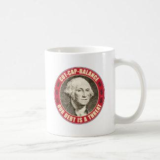 帽子のバランスを切って下さい コーヒーマグカップ