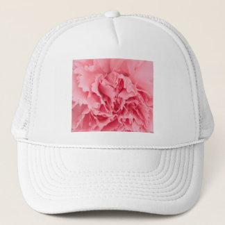 帽子のピンクのカーネーションの終わり キャップ