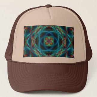 帽子のフラクタルの曼荼羅 キャップ