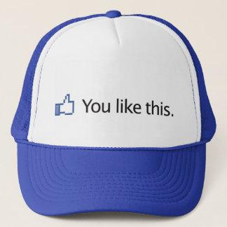 帽子の上でこれを手早くめくります好みます キャップ