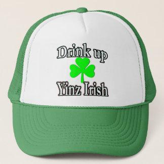 帽子の上の飲み物 キャップ