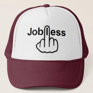 帽子の失業中のフリップ キャップ
