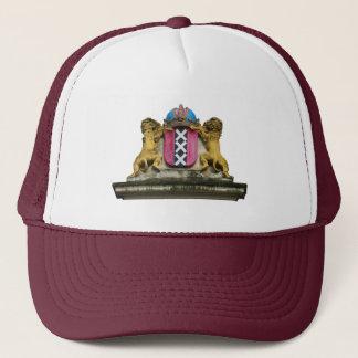 帽子の帽子アムステルダムXXXの盾の紋章付き外衣 キャップ