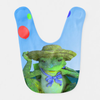 帽子の幸せなカエル ベビービブ