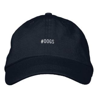 帽子の後をつけます 刺繍入りキャップ