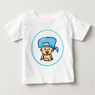 帽子の生意気なベビーBub ベビーTシャツ