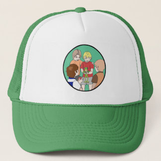 帽子の男性 キャップ