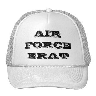 帽子の空軍がき トラッカー帽子