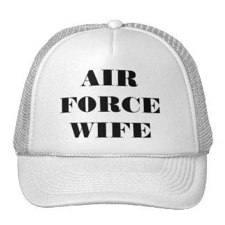 帽子の空軍妻 トラッカーキャップ