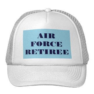 帽子の空軍退職者 メッシュ帽子