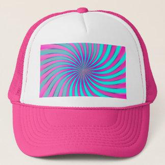 帽子の螺線形渦 キャップ