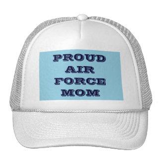 帽子の誇り高い空軍お母さん トラッカーキャップ