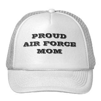 帽子の誇り高い空軍お母さん メッシュハット