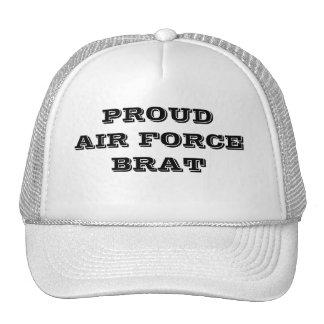 帽子の誇り高い空軍がき トラッカーキャップ
