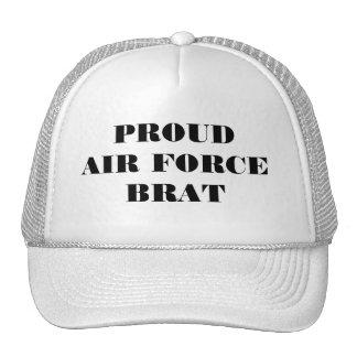 帽子の誇り高い空軍がき トラッカー帽子
