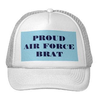 帽子の誇り高い空軍がき メッシュキャップ