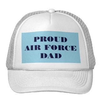 帽子の誇り高い空軍パパ キャップ