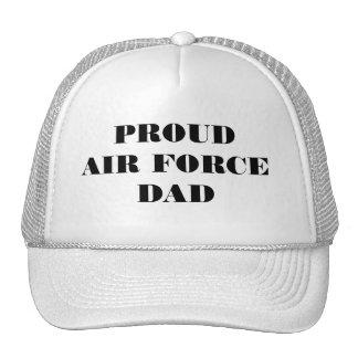 帽子の誇り高い空軍パパ メッシュハット