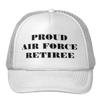 帽子の誇り高い空軍退職者 キャップ