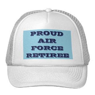 帽子の誇り高い空軍退職者 トラッカーハット