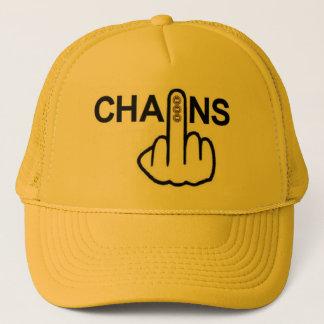 帽子の鎖フリップ キャップ