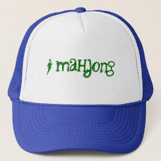 帽子の~の表現の巧妙なMahjongの専門家プレーヤー キャップ