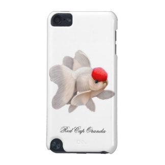 帽子のOrandaの金魚のiPodのカスタマイズ可能で赤い箱 iPod Touch 5G ケース