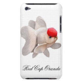 帽子のOrandaの金魚のSpeckのカスタマイズ可能で赤い箱 Case-Mate iPod Touch ケース