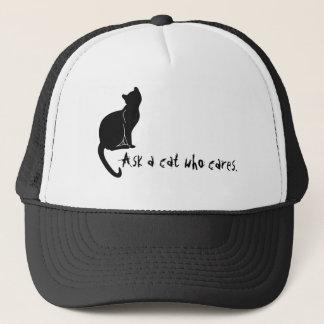 帽子を気にする猫に尋ねて下さい キャップ