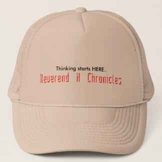 """""""帽子を考えている牧師のH Chronicles """" キャップ"""