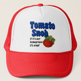 帽子を言っているトマトの俗物の庭師 キャップ