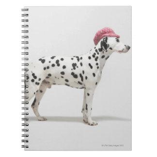 帽子を身に着けている犬 ノートブック